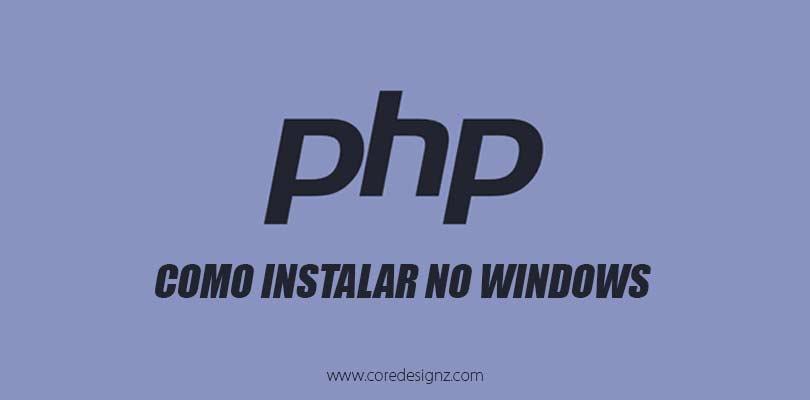 PHP Instalação