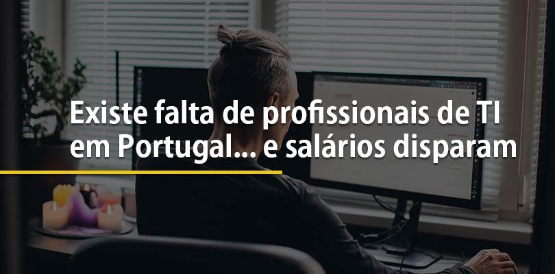 Existe falta de profissionais de ti